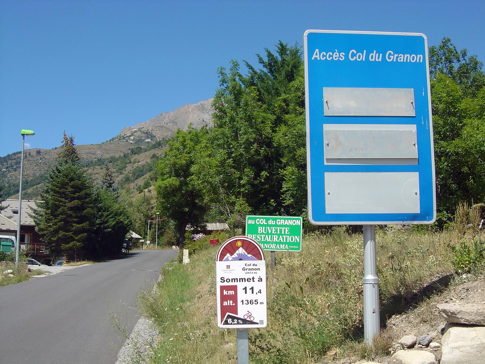 Col du Granon - Frankrijk