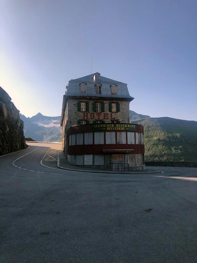 Furkapass Hotel Belvedere